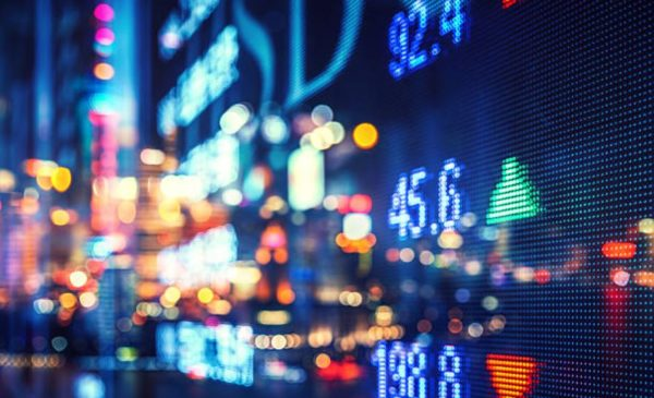 Toronto stock index up moderately, as Canadian dollar loses ground