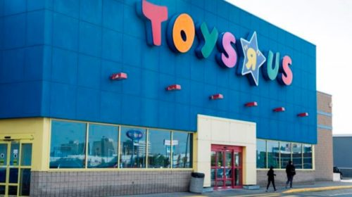 "Toys ""R"" Us files for bankruptcy protection in U.S.; plans to follow suit in Canada"